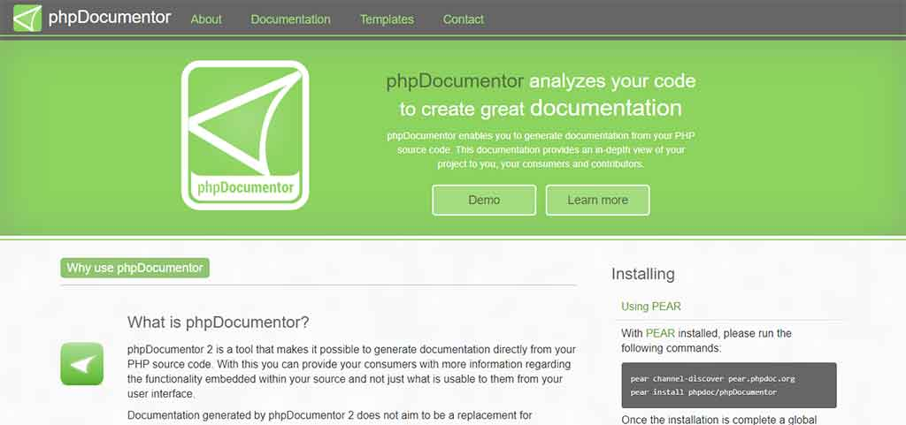 راهنمای مستندسازی با phpdoc
