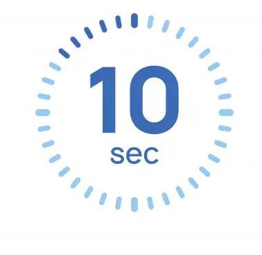 قانون دهثانیهای در طراحی صفحه اول وبسایت