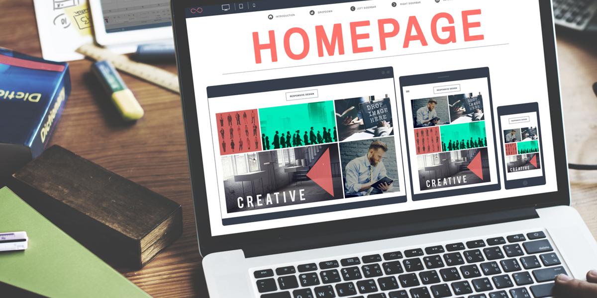 اصول طراحی صفحه اول وبسایت