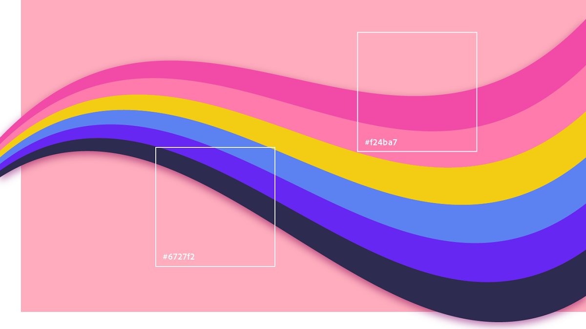 تئوری رنگ در طراحی سایت