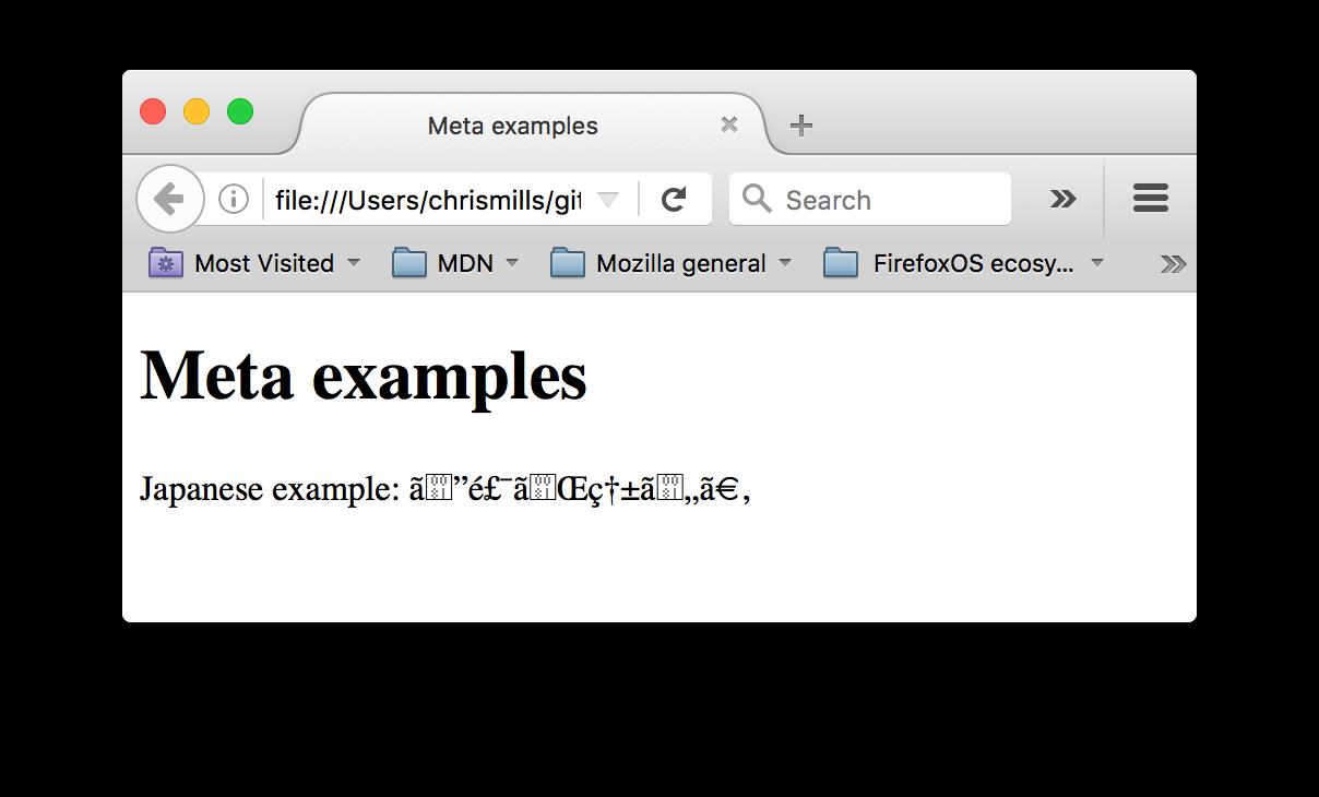 رمزگذاری نامناسب در HTML